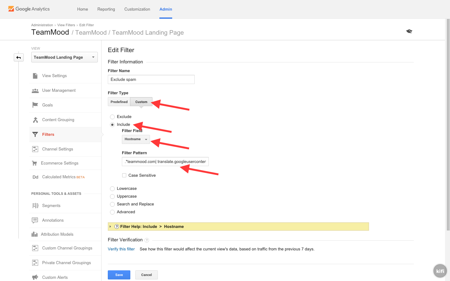 Remove Spam in Google Analytics